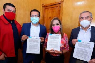Gobiernos estatal y federal acuerdan trabajar juntos para dignificar las condiciones de vida de los tlaxcaltecas