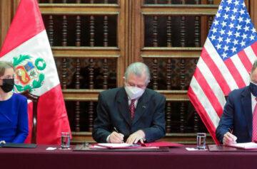 Perú y EE.UU suscriben nuevo Convenio de Donación para Objetivos de Desarrollo